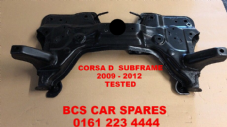 VAUXHALL  CORSA D   2009 - 2011    SUBFRAME    Pre Owened